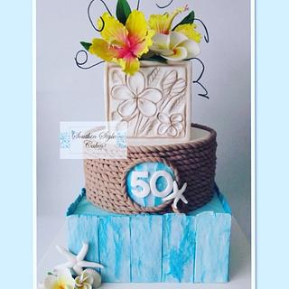 50th Birthday - Cake by Southin Style Cakes