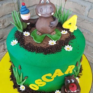 Hippopotamus  cake