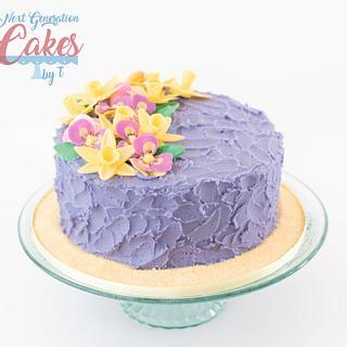 Happy Spring - Cake by Teresa Davidson