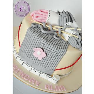 old grandma cake