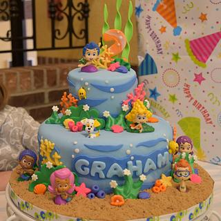 Bubble Guppies for Graham's 2nd Birthday!