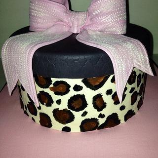 Gift boxcake