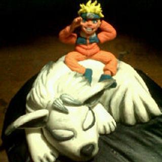 Naruto and Nine Tailed Fox
