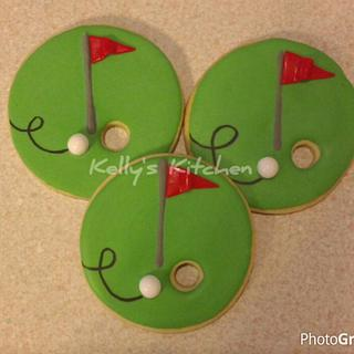 Golf themed birthday