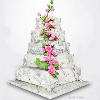 Elegance in marble - Cake by Seema Bagaria