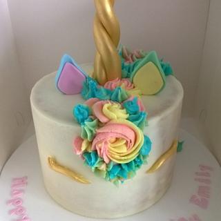 Unicorn Cake Again!
