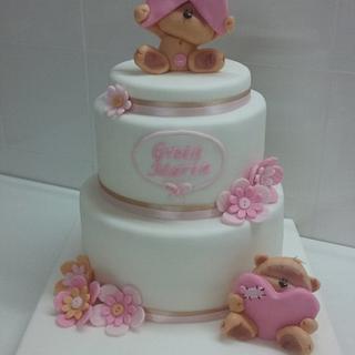 Baptism Cake - Cake by Zucchero e polvere di stelle
