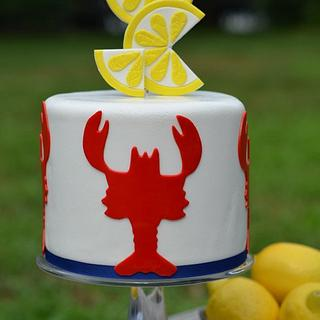 Summer in New England - Cake by Elisabeth Palatiello