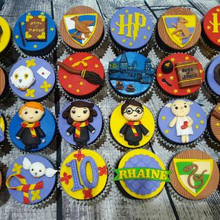 Harry Pottet Cupcakes