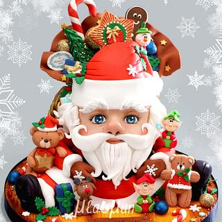 Santa Claus 3D Cake