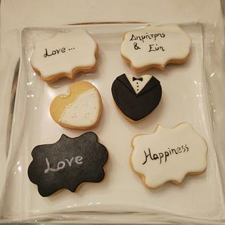 Weddings cookies