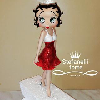 Betty Boop cake topper