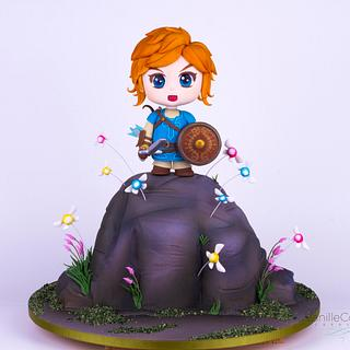 The Legend of Zelda - Breath of the Wild - Cake by VanilleCouture