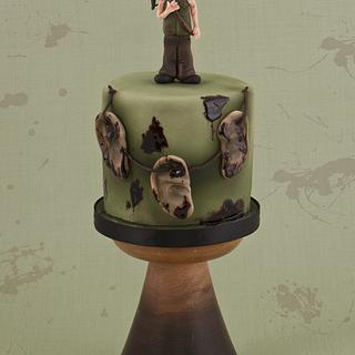 Daryl Dixon - Walking Dead Cake