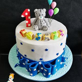 Me2You bear for 1st birthday!