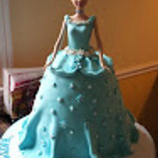Barbie Cake - Cake by Vilma