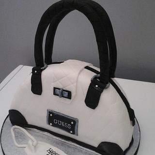 Guess Handbag Birthday Cake