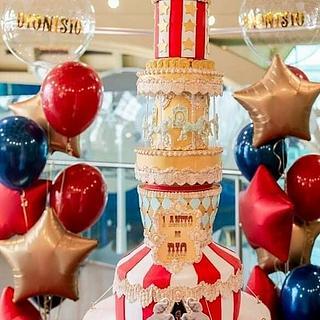 Circus Cake - Cake by Claudia Smichowski