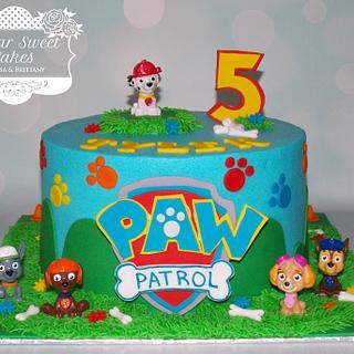 Paw Patrol - Cake by Sugar Sweet Cakes
