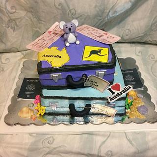 Australia cake - Cake by Danielle Crawford