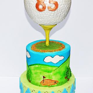 Golf Cake - Cake by Seema Acharya