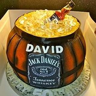 Whiskey Barrel!