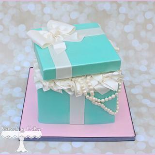 Tiffany Box Cake + Smash Cake