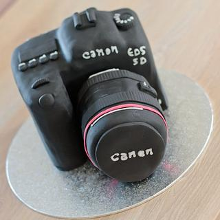 Camera Canon - Cake by Amelis