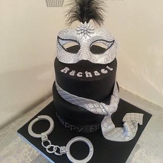 50 Shades of Grey trilogy cake