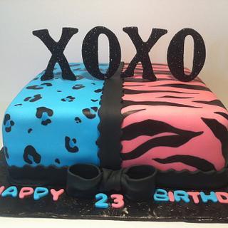 Split Personalities Twin Cake