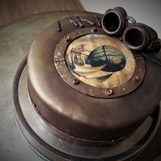 Balloon Steam Punk cake