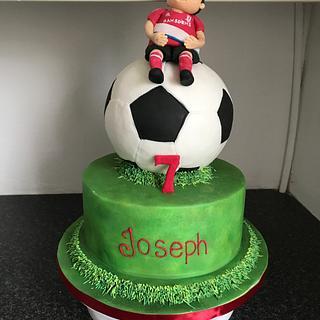 Football Cake - Cake by Charlotte