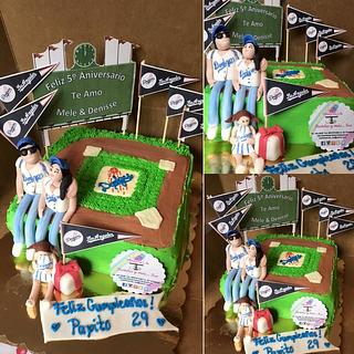 BASEBALL - Cake by Pastelesymás Isa