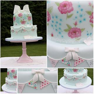 Cath Kidston Birthday Cake