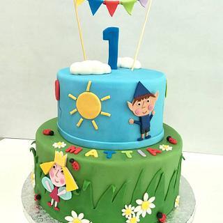 Ben & Holly cake - Cake by Silvia Tartari