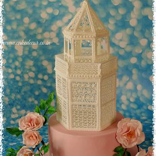 Royal icing structure