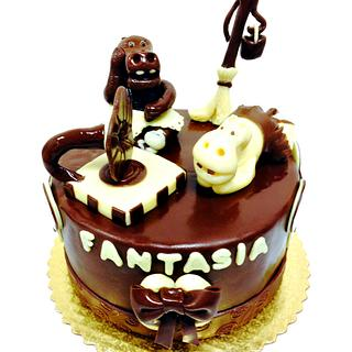 Chocolate Fantasia - Cake by Chef Rose