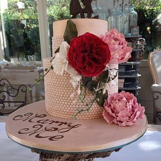 Iris - Cake by Cristiana Ginanni