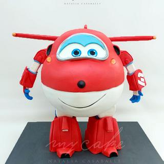 Super wings Jett Cake