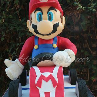 Mario Kart cake