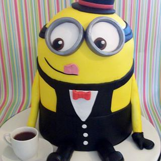 Dave The Minion - Cake by muffintops
