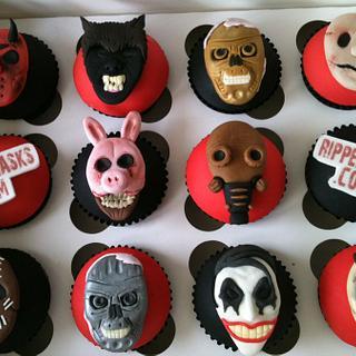 Ripper Masks.com cupcakes