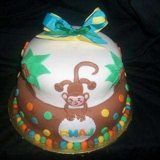 Fisher Price Baby Shower  - Cake by caymancake