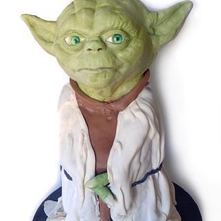 Yoda - Cake by LJay -Sugar Goblin Cakes