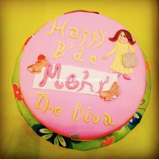 The Diva Cake - Cake by All Things Yummy