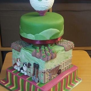 Hobby Cake - Cake by My Little Cake Studio