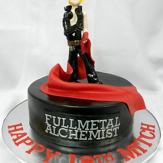 Full Metal Alchemist Anime Cake