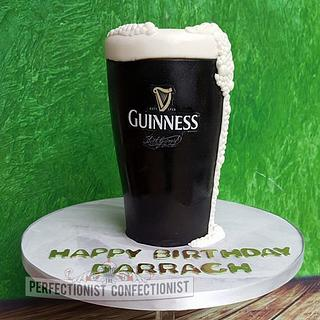 Darragh - Pint of Guinness Birthday Cake