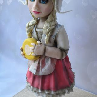 Marieke, dutch doll cake