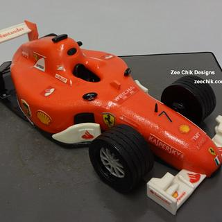 Formula one car cake - Cake by Zee Chik Designs